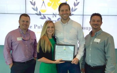 Noble Accepts Coveted Business of the Quarter from Chamber